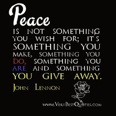 john lennon quotes | Peace quotes, John Lennon Quotes - Inspirational Quotes about Life ...