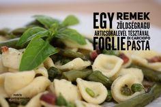 Miért jó, ha van saját fűszerkerted? Ezért is: Egy remek zöldségragu articsóka levél tésztával - GastroGranny receptjei, videó receptjei Penne, Pasta Salad, Foodie, Chicken, Ethnic Recipes, Youtube, Crab Pasta Salad, Youtubers, Pens