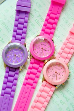 WATCH: http://shop.dropdeadgorgeousdaily.com/shop/rubber-watches-coloured/
