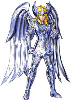 View an image titled 'Hyoga, God Cloth Art' in our Saint Seiya: Soldiers' Soul art gallery featuring official character designs, concept art, and promo pictures. Power Rangers, Knights Of The Zodiac, Character Art, Character Design, 80 Cartoons, Soul Art, Art Pictures, Manga Anime, Fantasy Art