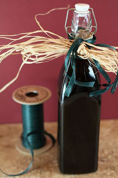 Homemade coffee liqueur. http://www.creative-culinary.com/2011/11/better-than-kahlua-how-to-make-coffee-liqueur-happyhourfriday/