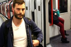 Fifty Shades Of Grey star Jamie Dornan has revealed how he stalked a woman on the Tube in preparation for his role as a serial killer in The Fall Jamie Dornan, Calvin Klein Models, Fifty Shades Darker, 50 Shades, Paul Spector, Stars Play, Gillian Anderson, Charlie Hunnam, Christian Grey