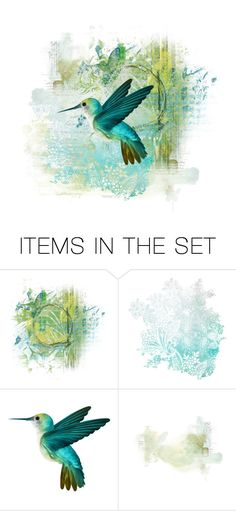 """""""Abstract With Bird"""" by onemonday ❤ liked on Polyvore featuring art, abstract, bird and theunexpected"""