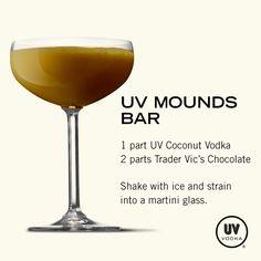 UV Vodka Recipe: UV Mounds Bar O.O WANT