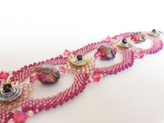 Reserved for Michelle  Fuchsia and Pink  Bead by dorothydomingo, $85.00