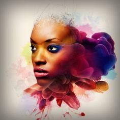 Adobe Photoshop Touch by Alberto Seveso, via Behance // <3