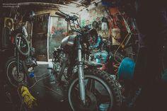 Honda Cb 400, Motorcycle, Painting, Art, Art Background, Painting Art, Kunst, Motorcycles, Paintings