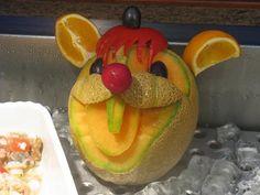 fruit carving - melon