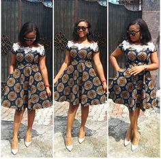 The best collection of unique and classic ankara gown styles of these ankara gowns are classically made Ankara Short Gown Dresses, Short African Dresses, Ankara Gown Styles, Latest African Fashion Dresses, Short Gowns, African Print Dresses, African Print Fashion, Dress Styles, African Attire