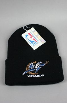 344ced84191 The Washington Wizards Beanie in Black