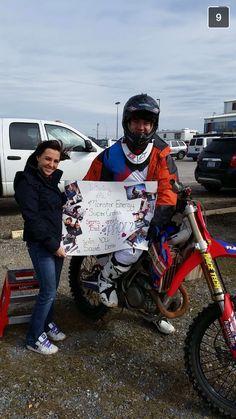 A Motocross promposal ✊ #promposal #prom2k15 #prom2015 #moto #motocross #motogirlfriend