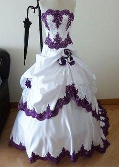 Wholesale A-Line Wedding Dresses - Buy Gothic Wedding Dresses 2015 Taffeta Train Strapless Beads Applique Rose A-Line Vestido De Novia Bridal Ball Gowns Evening Party Custom Made, $182.2 | DHgate.com