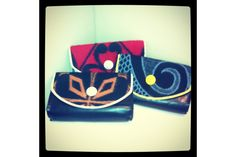 Hand-made Leather Clutch Bags by Thabo Makhetha