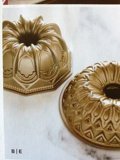 Bundt pan from Williams-Sonoma