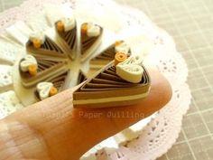 モカケーキはいかが?の画像 | Toshi's Paper Quilling ♪