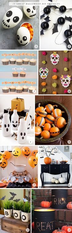 10 Great (and Easy) #Halloween #DIY Craft Projects