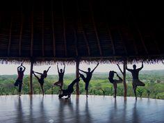 Costa Rica Yoga Spa, Nosara...One day I will go to a yoga hatha....it's 1st on my bucket list
