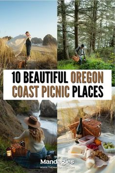 Looking for a picturesque outing with your partner in the Pacific Northwest? For Oregon Wine Month, we partnered with Portlandia Vintners to bring you 10 incredible Oregon Coast picnic spots! From rugged to romantic, we're sharing the best coastal destinations in our newest blog post. Save this post for PNW inspiration! #oregoncoast #picnic California Coast, Oregon Coast, Pacific Coast Highway, Highway Road, Painted Hills, Picnic Spot, Cascade Mountains, Cannon Beach, Oregon Travel