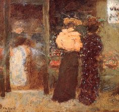 Pierre Bonnard - Flower shop