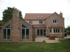 - HWL Windows installed these lovely colour windows Barn Windows, Cottage Windows, House Windows, Windows And Doors, Grey Windows, Timber Windows, Cottage Extension, House Extension Design, Window Frame Colours