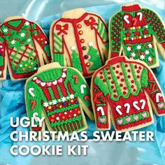 The uglier the sweater, the merrier the Christmas. December 12th is National Ugly Christmas Sweater Day, and we have the perfect snack to get your party started this year! #NUCSD