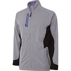 2015 Adidas Climaproof Advance Rain Full Zip Waterproof Mens Golf Jacket Review