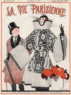 René Vincent (1879–1936). La Vie Parisienne, 25 Février 1922. [Pinned 26-iii-2015]