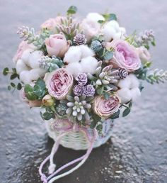 Silk Flowers Arrangements Tips Key: 7321275342 Pink Flower Arrangements, Floral Bouquets, Wedding Bouquets, Wedding Flowers, Bouquet Flowers, Silk Flowers, Paper Flowers, Beautiful Flowers, Deco Floral
