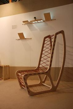 Gwood!Chair by Ruben Sanchez