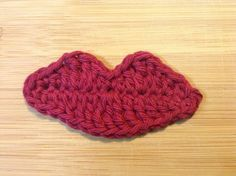 Luscious Lips Crochet Pattern