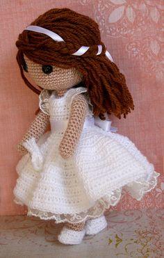 Amigurumi Patterns, Amigurumi Doll, Doll Patterns, Knitted Dolls, Crochet Dolls, Crochet Doll Pattern, Crochet Patterns, Crochet Crafts, Crochet Projects