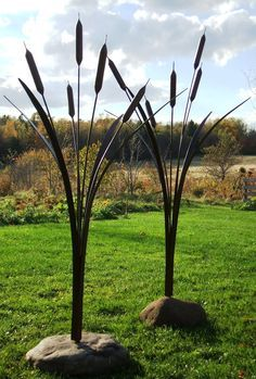 Image result for art installations cattails