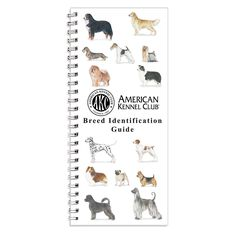 The AKC Breed ID Guide provides you with a brief and illustrated description of all recognized AKC breeds, along with fun trivia and resources. Pocket sized and laminated makes it perfect for on-the-go.
