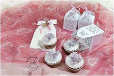 muffiny z hortensjami na pierwszą komunię - prezenty dla gości, więcej na www.kawalciacha.pl
