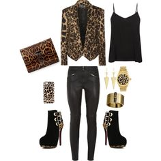 Wild Child by Deranged Diva. A fashion look from February 2015 featuring Balmain blazers, Givenchy pants and Christian Louboutin clutches. Browse and shop related looks.