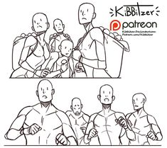 Official Post from kibbitzer: I never draw groups..if you need more of them just tell me!------------------------------------------------------------This is a $5 reward!After all the pledges get processed by patreon you'll get:-Full version with 4 groups- All the october reference sheetsRules:-don't share the exclusive content