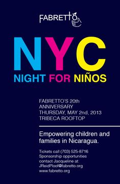 Our New York Event - Save the Date!