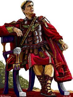 Gaius Julius Caesar by vandonovan.deviantart.com on @DeviantArt