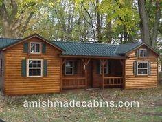 Amish-Made-Portable-Log-Cabin