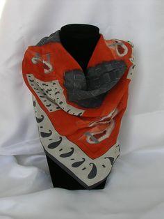Vintage scarfbeautiful. от MyLovelyEarrings на Etsy