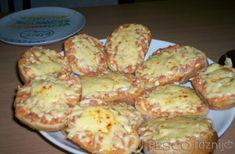 Főzni jó - Recept - Melegszendvicskrém Quiche Muffins, Sliders, Hamburger, Sandwiches, Dairy, Cheese, Vegetables, Breakfast, Food
