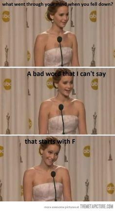 Jennifer Lawrence love her