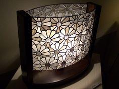 atelier SUETOMO|ランプ17|末友 章子のステンドグラス