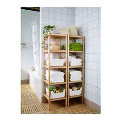 "Love this for everything. Especially closet organization -MOLGER Shelving unit, birch - 14 5/8x55 1/8 "" - IKEA"