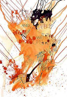 Kirsten Burke Contemporary Calligraphy: