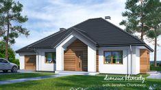 Projekt domu Selene VIII 115,60 m² - Domowe Klimaty Bungalow, Outdoor Decor, Home Decor, Houses, Home Colors, Decoration Home, Room Decor, Home Interior Design, Home Decoration