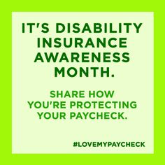 Disability Insurance Awareness Month - Council for Disability Awareness
