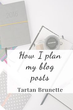 How I Plan my Blog Posts Need a little help getting organised and creating a content plan in advance (and sticking to it). Take your blog to the next level with these top tips for planning your content and getting organised
