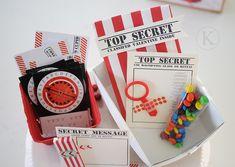 Top Secret Valentine kit