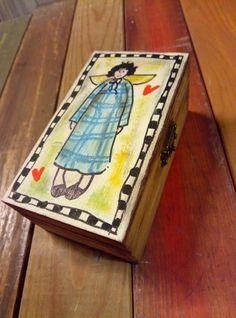 small wooden box handpainting Small Wooden Boxes, Jewerly, Coasters, Jewlery, Schmuck, Coaster, Jewelry, Jewels, Jewelery